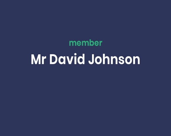 Mr David Johnson