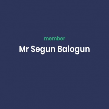 Mr Segun Balogun